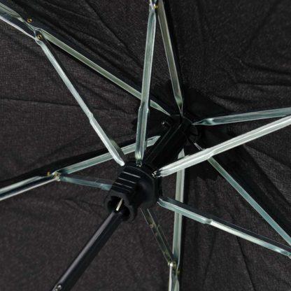 Зонт Fulton Miniflat-1 L339 Black (Черный)