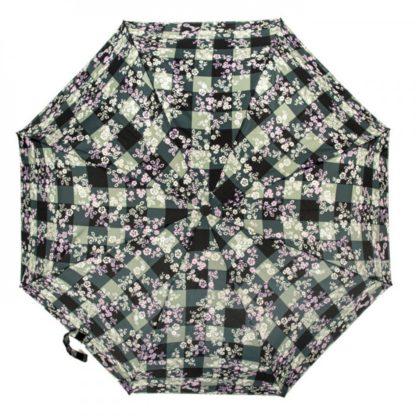 Зонт женский Fulton Open & Close-4 L346 Gingham Ditsy (Цветы)