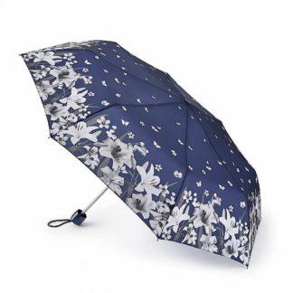 Зонт женский Fulton L354 Minilite-2 Lilies & Snowdrops (Лилии и подснежники)