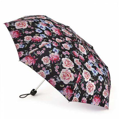 Зонт женский Fulton Minilite-2 L354 Sketched Bouquet (Цветочный эскиз)