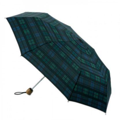 Зонт женский Fulton Stowaway Deluxe-2 L450 Moody Check (Клетка)
