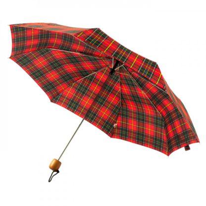 Зонт женский Fulton Stowaway Deluxe-2 L450 Royal Stewart (Королевский Стюарт)