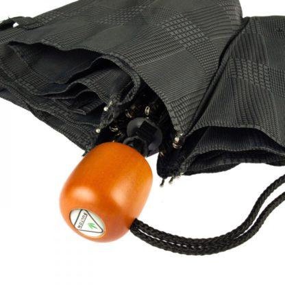 Зонт  Fulton Stowaway Deluxe-2 L450 Smoke Grey Check (Серая клетка)
