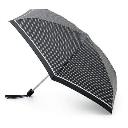 Мини зонт женский Fulton Tiny-2 L501 Classics Mini Spot (Горох)