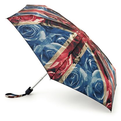 Мини зонт женский Fulton Tiny-2 L501 Rose Jack (Флаг)