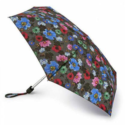 Мини зонт женский Fulton Tiny-2 L501 Colour Burst Floral (Цветочный бум)