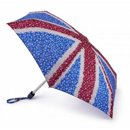 Мини зонт женский Fulton Tiny-2 L501 Daisy Jack (Британский флаг)