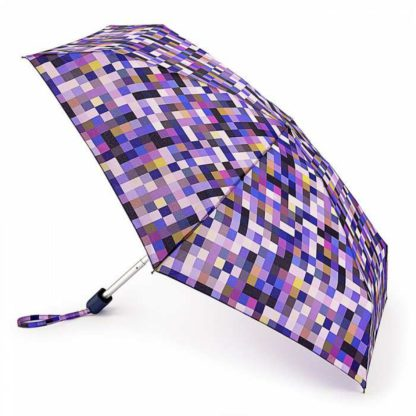 Мини зонт женский Fulton Tiny-2 L501 Pixel Power (Пиксели)