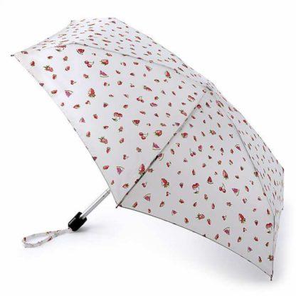 Мини зонт женский Fulton Tiny-2 L501 Juicy Rain (Ягодный дождь)