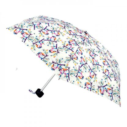 Мини зонт женский Fulton Tiny-2 L501 Summer Shade Birdy (Летняя тень птички)