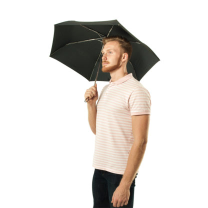 Зонт Fulton Superslim-1 L552 Black (Черный)