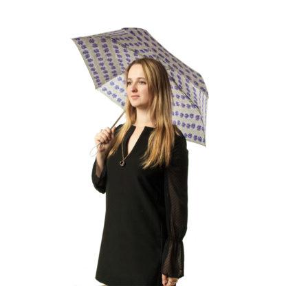 Зонт женский Fulton Superslim-2 L553 Tropical Stripe (Тропические полосы)