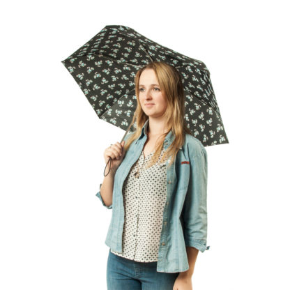 Зонт женский Fulton Superslim-2 L553 Sweetheart Birdy (Милая птичка)