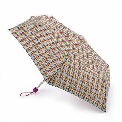 Зонт женский Fulton Superslim-2 L553 Modern Check (Современная клетка)