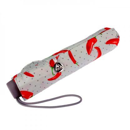 Зонт женский Fulton Superslim-2 L553 Hot Chilies (Горячие чили)