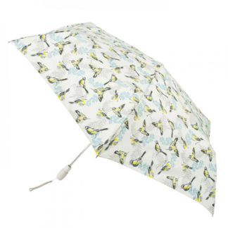 Зонт женский Fulton Open&Close Superslim-2 L711 Neon Robin (Малиновки)