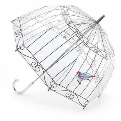 Зонт-трость женский Lulu Guinness by Fulton L719 Birdcage-2 Birdcage Birdcage