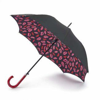 Зонт-трость женский Lulu Guinness by Fulton Bloomsbury-2 Marker Pen Lip