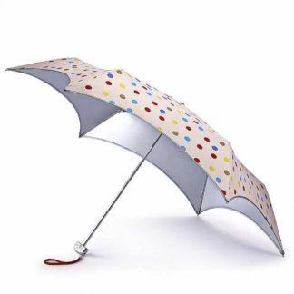 Зонт женский Fulton L752 Parasoleil-2 UV Coloured Polka Dot (Цветной горошек)