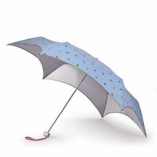 Зонт женский Fulton L752 Parasoleil-2 UV Spaced Ditsy (Цветы)