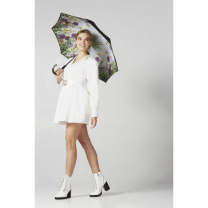 Зонт-трость женский Fulton L754 Bloomsbury-2 Garden Glow (Сад)