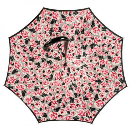 Зонт-трость женский Fulton Bloomsbury-2 L754 Painted Roses (Рисованные розы)