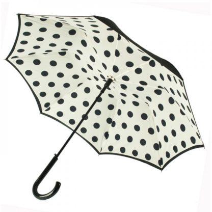 Зонт-трость женский Fulton Bloomsbury-2 L754 Polkadot (Горошек)