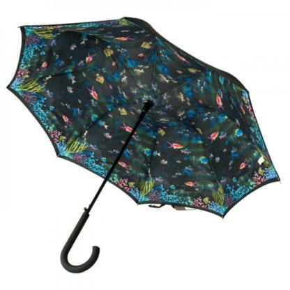Зонт-трость женский Fulton Bloomsbury-2 L754 Under The Sea (Под водой)
