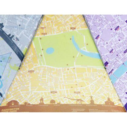 Зонт женский Fulton Brollymap L761 London Map (Карта Лондона)