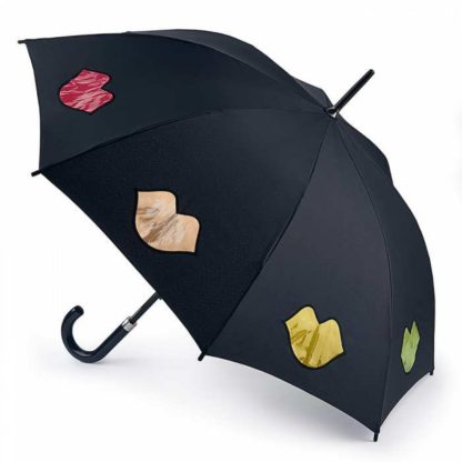 Зонт-трость женский Lulu Guinness by Fulton Kensington-2 L764 Rainbow Lips