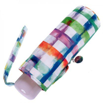 Зонт женский Fulton Soho-2 L859 Rainbow Check (Радужная клетка)