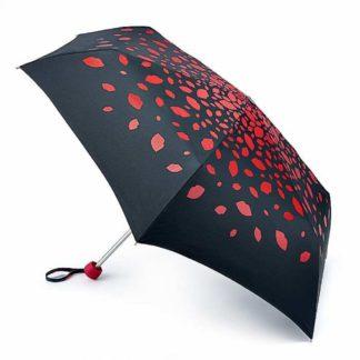 Зонт женский Lulu Guinness by Fulton Minilite-2 L869 Raining Lips
