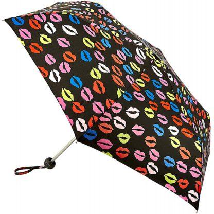 Зонт женский Lulu Guinness by Fulton Minilite-2 L869 Blot Lips