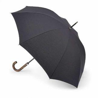 Зонт-трость Fulton Hampstead-1 L893 - Black (Черный)