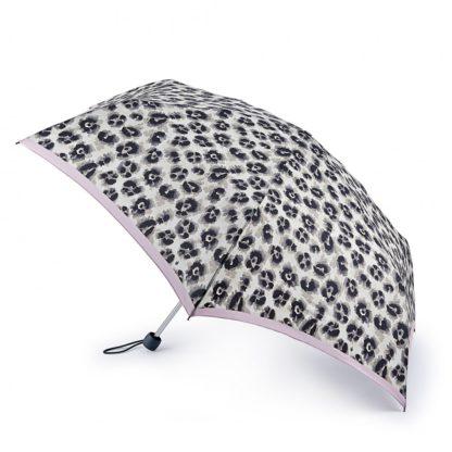 Зонт женский Fulton L902 Superslim-2 Leonard Border (Леопард)