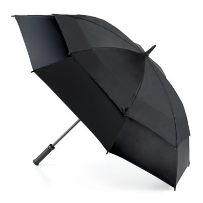 Зонт-гольфер Fulton Stormshield S669 Black (Черный)
