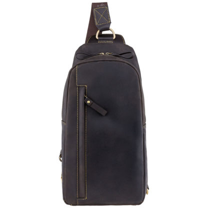 Рюкзак с одной лямкой Visconti Shark 16132 (Oil Brown Mocha)
