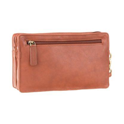 Мужской клатч с отделением для телефона Visconti 18233 Wrist Bag (Brown)