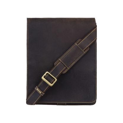 Сумка мужская через плечо Visconti 18410 Jasper (Oil Brown)