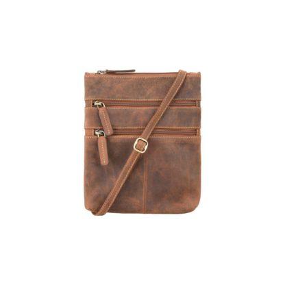 Сумка на плечо Visconti 18606 Slim Bag (Oil Tan)