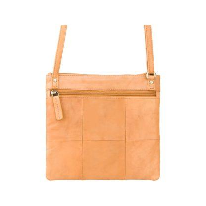 Сумка через плечо кожаная Visconti 18608 Slim Bag (Sand)