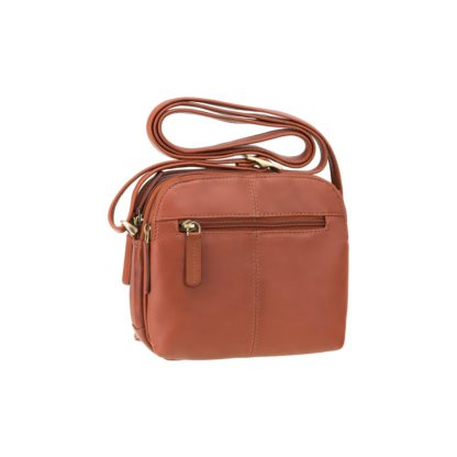Маленькая сумка через плечо коричневая Visconti 18939 Holly (Brown)