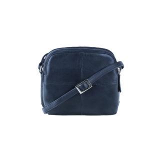 Маленькая сумка через плечо синяя Visconti 18939 Holly (Navy)