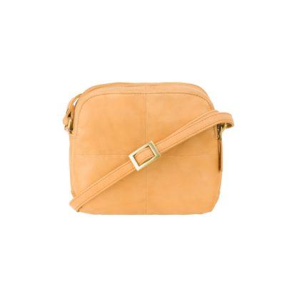 Маленькая сумка через плечо бежевая Visconti 18939 Holly (Sand)