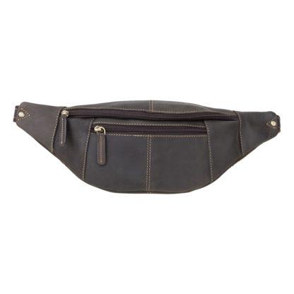 Кожаная сумка на пояс Visconti 721 Bumbag Large (Oil Brown)