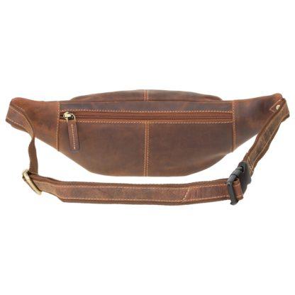 Кожаная сумка на пояс Visconti 721 Bumbag Large (Oil Tan)