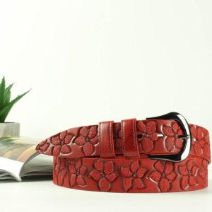 Женский кожаный ремень 00819-2