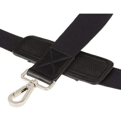 Кожаная сумка для ноутбука черная Visconti ML28 (Black)