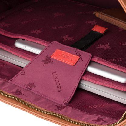 """Коричневая женская сумка Visconti PLT20 Sophia 13 Laptop (Tan) с отделом для ноутбука 13"""""""