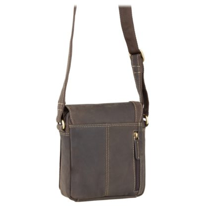 Сумка мужская Visconti S7 Messenger Bag A5 (Oil Brown)
